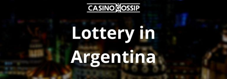 Lottery in Argentina