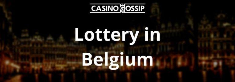 Lottery in Belgium