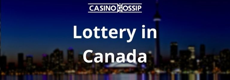 Lottery in Canada