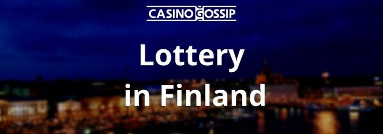 Lottery in Finland