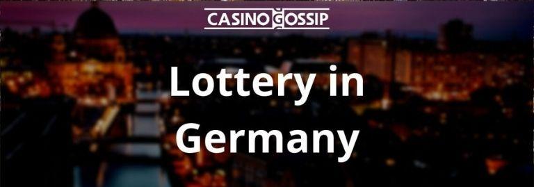 Lottery in Germany