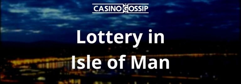 Lottery in Isle of Man