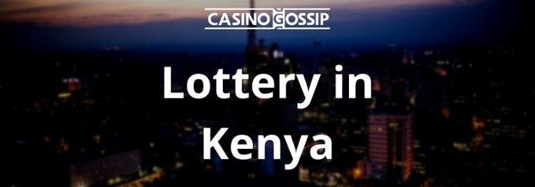 Lottery in Kenya