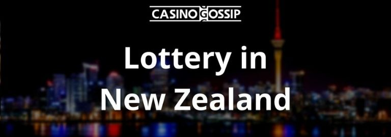 Lottery in New Zealand