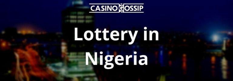 Lottery in Nigeria