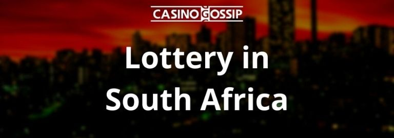 Lottery in South Africa