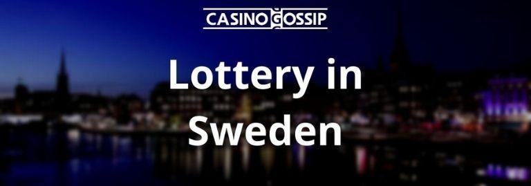 Lottery in Sweden