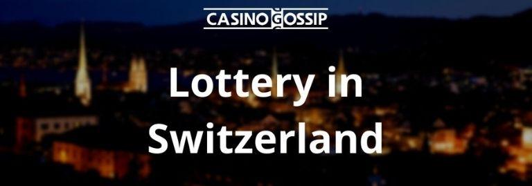 Lottery in Switzerland