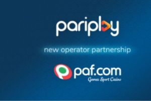 New Partnerhip for Games with Leading European Gaming Operator PAF