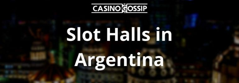 Slot Hall in Argentina