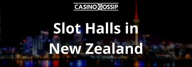 Slot Hall in New Zealand