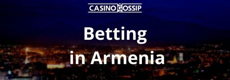 Betting in Armenia