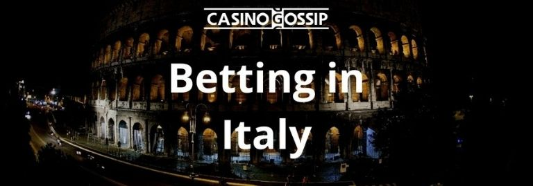 Betting in Italy