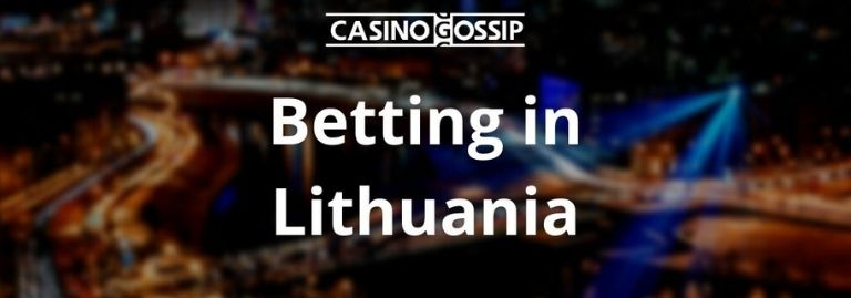 Betting in Lithuania