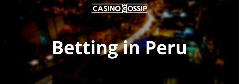 Betting in Peru