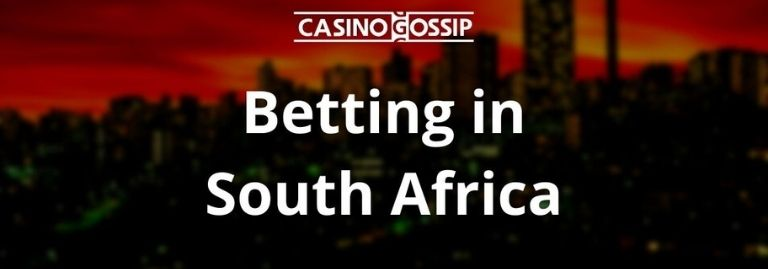 Betting in South Africa