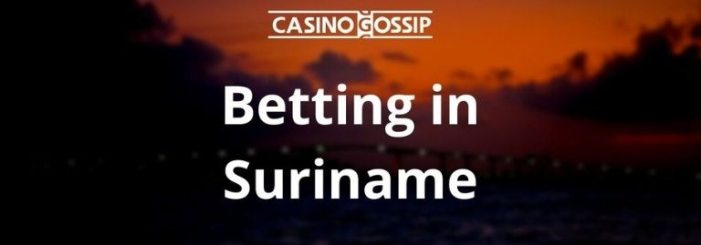 Betting in Suriname