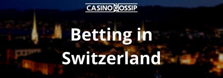 Betting in Switzerland