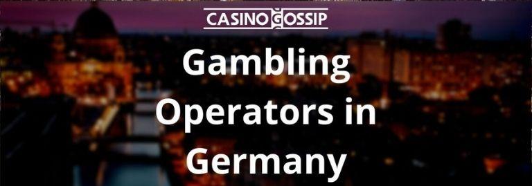 Gambling Operators in Germany