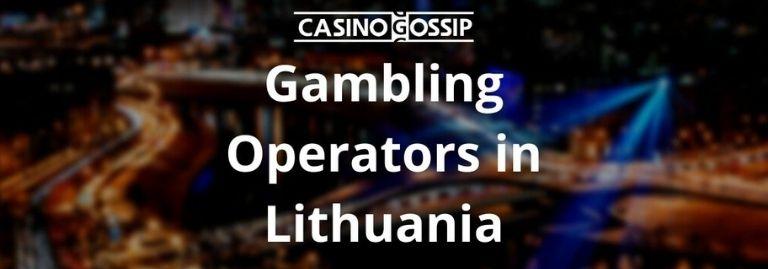 Gambling Operators in Lithuania