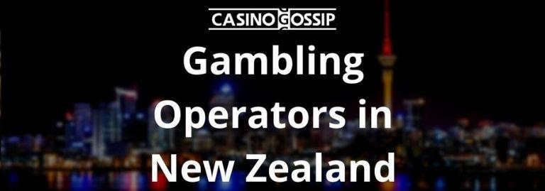 Gambling Operators in New Zealand