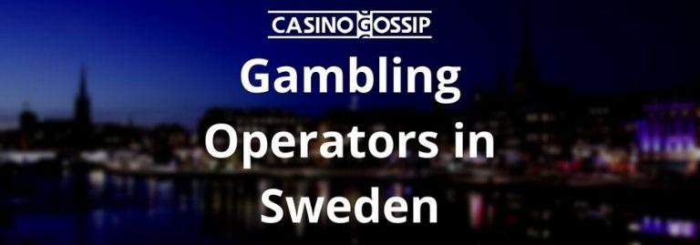 Gambling Operators in Sweden
