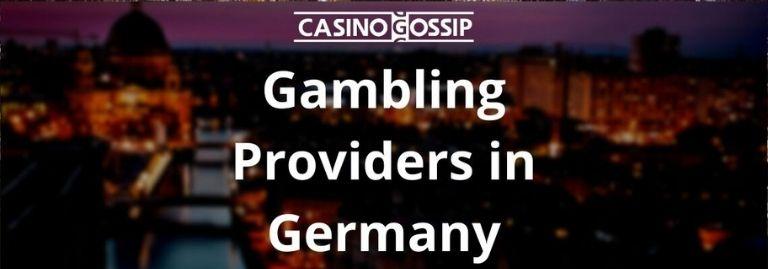 Gambling Providers in Germany