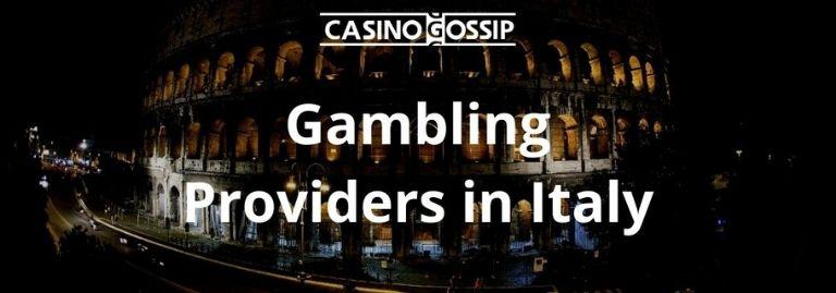Gambling Providers in Italy