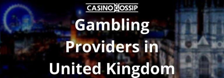 Gambling Providers in United Kingdom