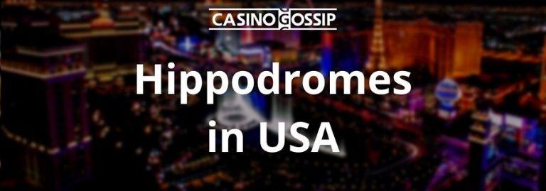 Hippodromes in USA