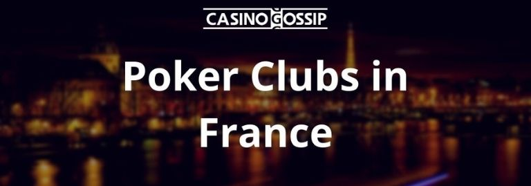 Poker Club in France