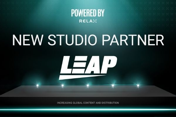 Relax Gaming signs Leap Gaming as latest studio partner