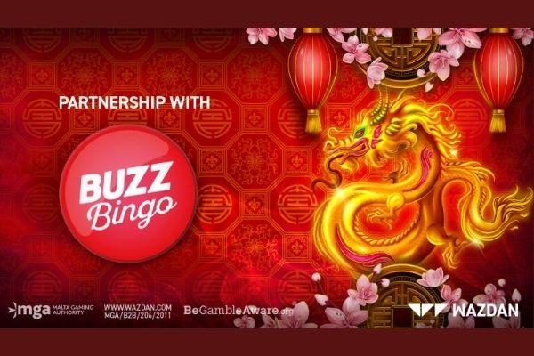 WAZDAN Sign Major UK Deal with BUZZ BINGO