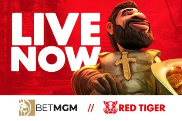 Red Tiger Launches with BetMGM Casino and Borgata Casino in Pennsylvania