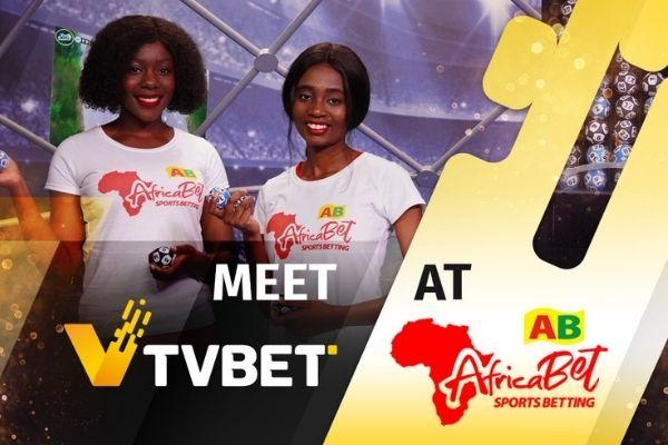 TVBET appears in Zimbabwe under AfricaBet's retail brand