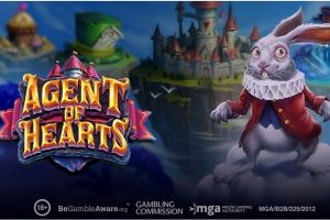Play'n GO returns to Wonderland with Agent of Hearts