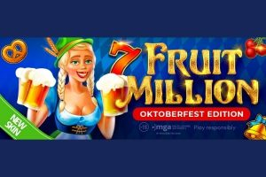 Celebrate Oktoberfest with BGaming: Fruit Million slot changes its look to Bavarian